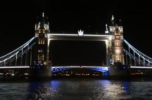 The London Showboat Dinner Cruise on the Thames River
