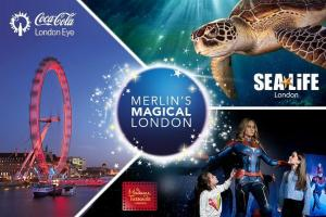 Combo Ticket: London Eye- Sea Life London- Madame Tussauds London Tour (via) Packages